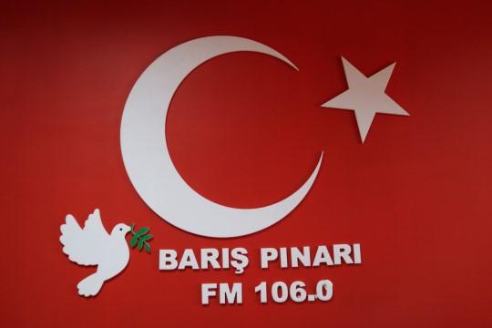Şanlıurfa'da Barış Pınarı Radyosu kuruldu