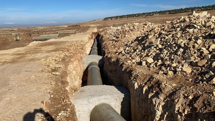 Şanlıurfa'nın kurak toprakları suyla buluşuyor