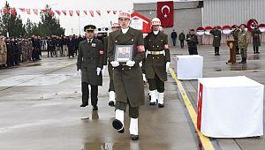 Şehit Binbaşı ve Teğmen Memleketine Uğurlandı (Videolu Haber)