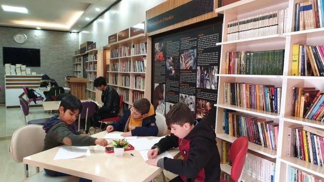 Şurkav Halilürrahman kütüphanesi hizmete girdi