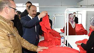 Viranşehir Vgs tekstil törenle açıldı (Videolu Haber)