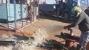 Yıllar sonra temiz suya kavuştular (Videolu Haber)
