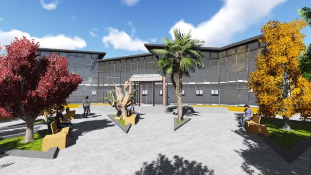 Bahçelievler Gençlik Merkezi ve Kitap Kafe İnşaatı Başladı (Videolu Haber)