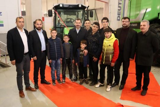 Baydilli'den tarım fuarına ziyaret (Videolu Haber)