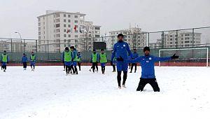 Bugün kar sevincini, Cumartesi galibiyet sevincini yaşayacağız