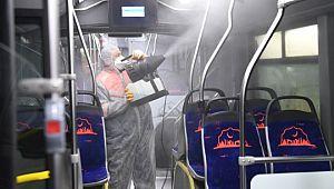 Büyükşehir'de hijyen ve dezenfekte ön planda (Videolu Haber)