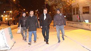 Halfeti belediyesi'nin kar mesaisi
