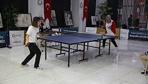 Haliliye'den 1'inci göbeklitepe kurumlar arası masa tenisi turnuvası (Videolu Haber)