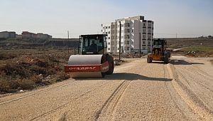 Haliliye'den dağeteği'nde yol çalışması (videolu Haber)