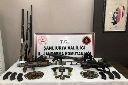 Jandarmadan silah kaçakçılarına operasyon: 3 gözaltı