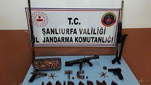 Şanlıurfa'da silah kaçakçılığı operasyonu: 3 gözaltı