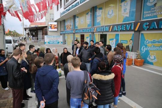Yabancı öğrenciler haliliye'nin hizmetlerine hayran kaldı (Videolu Haber)