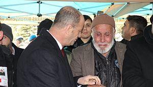 Yavuz Kahramanmaraş'ta Şehit Cenazesine Katıldı