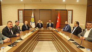 Eyyübiye Belediyesi ve Harran Üniversitesinden Dev İstihdam Projesinin Ön Görüşmesi Yapıldı