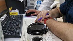 Sağlık çalışanlarının kahveleri 'İyilik Hareketi' nden
