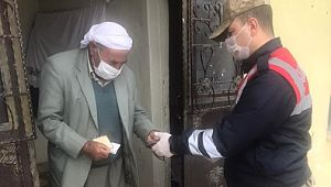 Şanlıurfa'da 65 yaş üstündekilerin maaşları evlerine gönderilecek