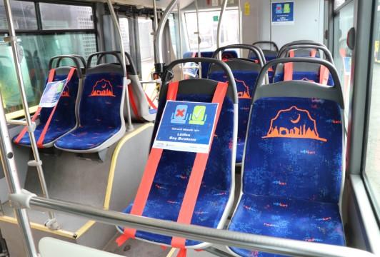 Toplu taşıma araçlarında yeni oturma düzeni (Videolu Haber)