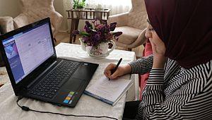 Büyükşehir'den evde çalışma uygulaması(Videolu Haber)