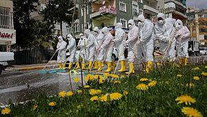 Esentepe mahallesi dezenfekte edildi (Videolu Haber)