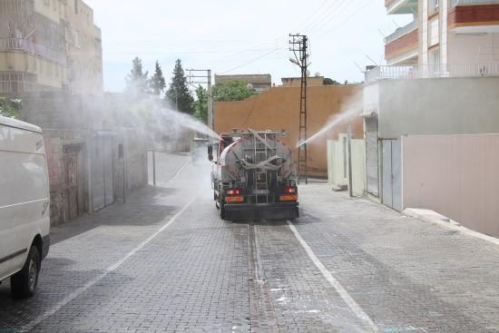 Haliliye'de salgınla mücadele sürüyor
