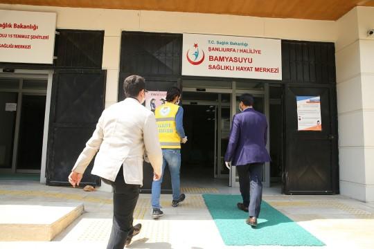 Haliliye'den aile sağlık merkezlerine maske dağıtımı (Video)