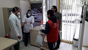 Şanlıurfa'da gençlik merkezleri siperlik maske üretiyor (Video)
