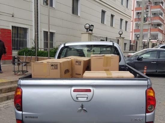 Şanlıurfa'da ilçelere 130 bin maske