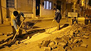 Ahmet Yesevi'de yol yapımı sürüyor (Videolu Haber)