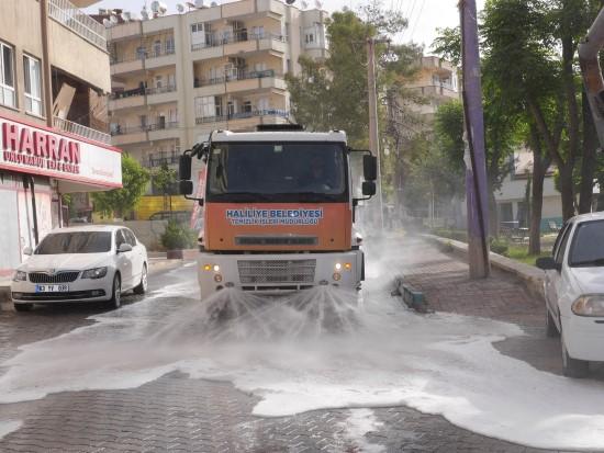 Haliliye'de bayramda da salgınla mücadele devam ediyor (Video)