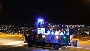 Karaköprü'de Ramazan etkinlikleri İlahi dinletisiyle sürüyor (Video)