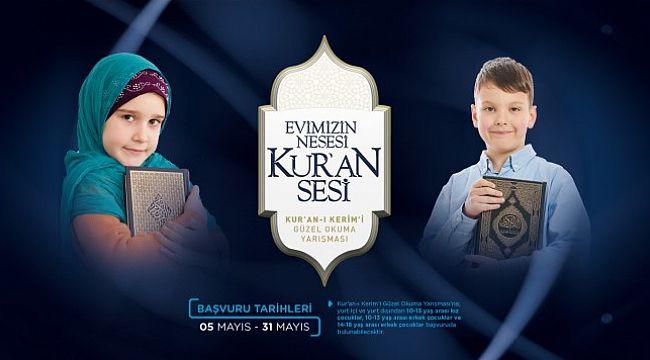 Kur'an-ı Kerim'i güzel okuma yarışması için başvurular 31 Mayıs'ta sona eriyor