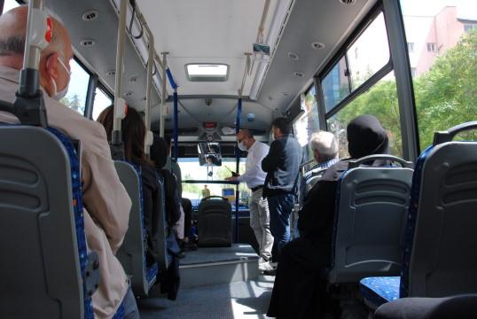 Özel halk otobüslerine sıkı denetimler devam ediyor (Video)