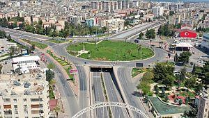 Şanlıurfa'da bayramın üçüncü gününde de sokaklar boş kaldı