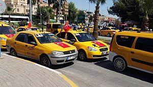 Taksiler kolonya bulunduracak