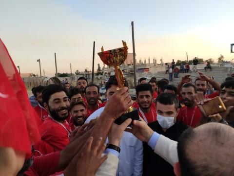 Barış Pınarında Futbol Turnuvası (Videolu Haber)
