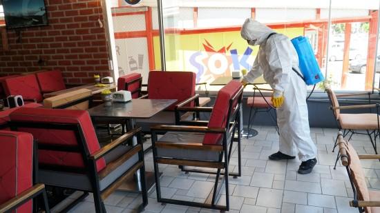 Haliliye'deki kafe ve restoranlar Bugüne hazır (Videolu Haber)