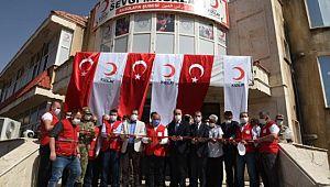 Kızılay, Suriye'deki Sekizinci Mağazasını Resulayn'da Açtı (Videolu Haber)