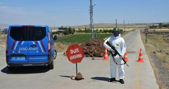 Şanlıurfa'da 3 mahalle ile 37 bina karantinaya alındı (video)
