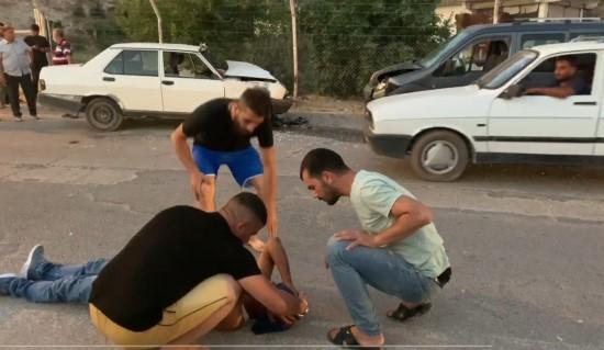 Şanlıurfa'da trafik kazası: 5 yaralı (Video)