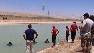 Sulama kanalına düşen gencin cansız bedenine ulaşıldı