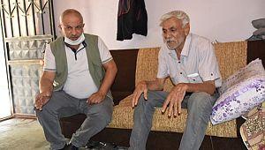Ailesi tarafından terk edilen yaşlı adam yardım bekliyor (Videolu Haber)