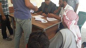 Barış pınarı bölgesinden hububat alımı başladı (Video)