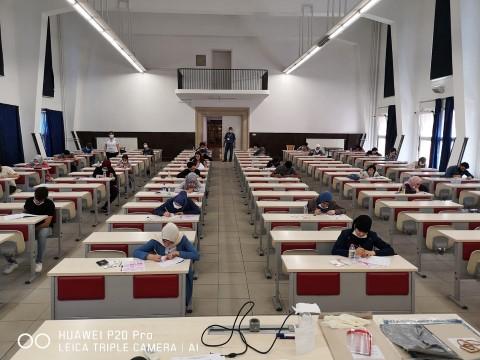HRÜ'de yabancı öğrenci sınavının (Harranyös 2) ikinci aşaması yapıldı (Video)