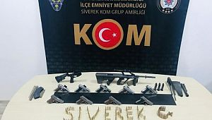Şanlıurfa'da silah kaçakçılarına yönelik operasyon: 2 gözaltı