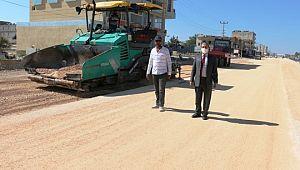 Akçakale Şanlıurfa yolu ilk etap çalışmalarında sona gelindi (Videolu Haber)