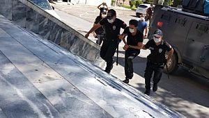 Ceylanpınar Belediyesinde çıkan kavgada 1 kişi tutuklandı (Video)