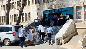 Ceylanpınar'da kavgaya karışan 5 kişi adliye sevk edildi