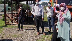 Giresun'a ilk mevsimlik işçi kafilesi Güneydoğu'dan