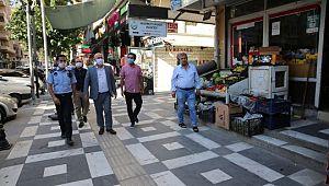 Haliliye zabıtasından kaldırım işgali ve pazar yeri denetimleri (Videolu Haber)