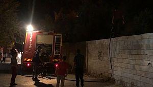 Metruk evdeki yangın söndürüldü